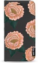 Casetastic Wallet Case Black Samsung Galaxy J3 (2017) - Winterly Flowers