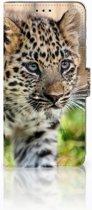Huawei Mate 20 Lite Uniek Boekhoesje Baby Luipaard