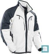 1245 Fleece jacket White/Black xxl