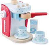 New Classic Toys - Speelgoed Koffiezetapparaat - Inclusief Accessoires - Rood