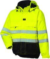 Helly Hansen 71376 Ludvika jas fluo geel/zwart maat M