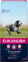 Eukanuba Caring Senior Medium Breed Kip - Hondenvoer - 15 kg