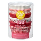 Wilton Cupcakevormpjes Valentijn Traditioneel pk/150