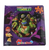 Ninja Turtles - Puzzelboek
