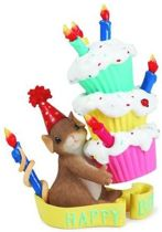 Charming Tails: Happy Birthday, Hoogte 8.5cm