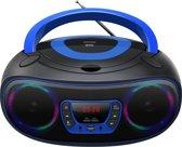 Denver TCL-212BT -  Draagbare Boombox met Bluetooth - Blauw