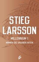 Boek cover Millenium 1 - Mannen die vrouwen haten van Stieg Larsson (Paperback)