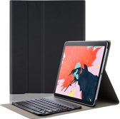Lunso - afneembare Keyboard hoes - iPad Pro 12.9 inch (2018) - Zwart