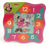 Disney Minnie Mouse Puzzel Klok