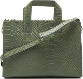 MYOMY My Paper Bag  Dames Crossbodytas  - Anaconda Sea Green