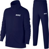 Nike Trainingspak - Maat L  - Unisex - donker blauw/ wit