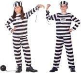 Boef / boeven carnaval verkleedset voor kinderen - carnavalskleding - voordelig geprijsd 116 (5-6 jaar)