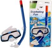 Sportx Comfort - Snorkelset - Kinderen - Blauw
