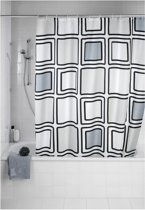 Douchegordijn - Polyester - Anti Schimmel - 180x200 cm - Mono
