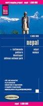 Reise Know-How Landkarte Nepal