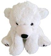 Warmteknuffel lavendel - tarwe ijsbeer