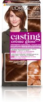 L'Oréal Paris Casting Creme Gloss 603 Caramel Macarron - Semi-Permanent Haarkleuring - Zonder Ammoniak