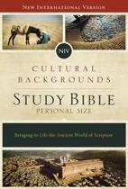 NIV, Cultural Backgrounds Study Bible, Personal Size, Pink/Brown, Indexed, Red Letter Edition