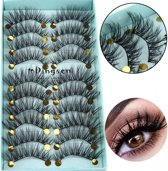 Wimperextentions set - Nep wimpers - Valse wimpers - Eyelash plakwimpers - 3D mink lashes