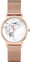 CLUSE CL40107 La Roche - Horloge - Petite Mesh Rose Gold White Marble