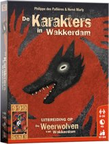 Weerwolven Uitbreiding - De karakters in Wakkerdam - Kaartspel