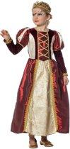 Koning Prins & Adel Kostuum   Wijze Koningin   Meisje   Maat 140   Carnaval kostuum   Verkleedkleding