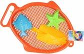 Zandbak speelsetje 4 delig oranje