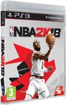 NBA Basketball 2K18 PS3