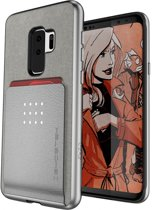 Ghostek Exec 2 Wallet Case Samsung Galaxy S9+ Silver