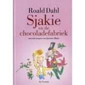 Boek cover Sjakie en de chocoladefabriek (luxe editie) van Roald Dahl
