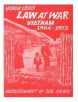 Law at War Vietnam 1964-1976