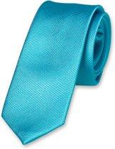 E.L. Cravatte Kinderstropdas - Turquoise - 100% Zijde