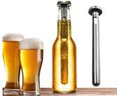 Bier Chiller Koelstaaf - Altijd koude pilsjes ! (set van 2 stuks)