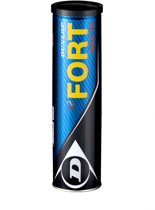 Dunlop FORT MAX TP KNLTB 4TIN - GEEL - Tennisballen Unisex - 601199