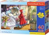 Red Riding Hood puzzel 40 maxi stukjes
