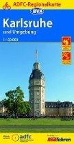 ADFC-Regionalkarte Karlsruhe und Umgebung mit Tagestouren-Vorschläge 1:50.000, reiß- und wetterfest, GPS-Tracks Download