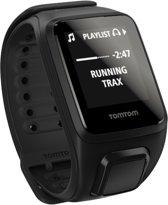 TomTom Spark 3 Cardio + Music + Headphone - Sporthorloge - GPS - Small -Zwart