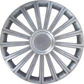 Carpoint Wieldoppen Radical Pro 16 Inch Abs Zilver Set Van 4