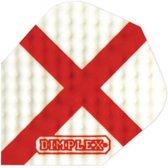 Harrows Darts Flight 4195 Dimplex Red Cross