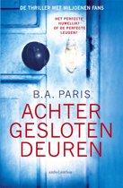 Boek cover Achter gesloten deuren van B.A. Paris (Paperback)