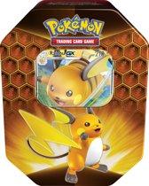 Pokémon Hidden Fates Tin Raichu GX  - Pokémon Kaarten