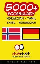 5000+ Norwegian - Tamil Tamil - Norwegian Vocabulary