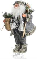Kerstman Op Schaatsen 20x28x45cm