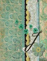 J Crochet Journal: Crocheters Notebook - Tracking Log for Stitching Designs - Journal to Write In Materials - Project Planner