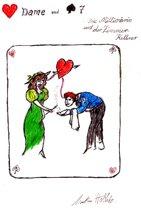 Herz Dame und Pik 7