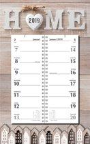 Omleg weekkalender MGP 2019 - Omlegkalender - 2 weken overzicht - Home - 21 x 34 cm