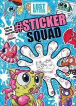 Hasbro Lost Kitties #sticker Squad Color-In Sticker Book