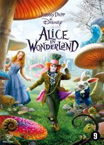 DVD cover van Alice in Wonderland