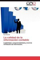 La Calidad de La Informacion Contable