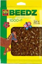 SES Beedz Strijkkralen - 1000 Stuks - Donkerbruin (00725)